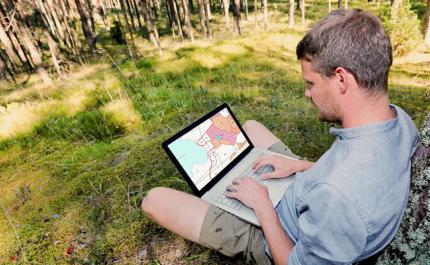 Värt att kolla in uppgifterna om din egen skog