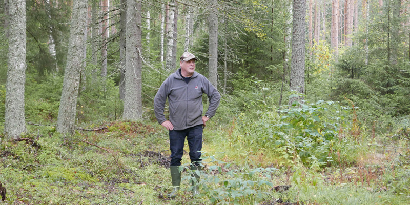 Skogsägaren och jägare kommer överens om jakträtt med arrendeavtal