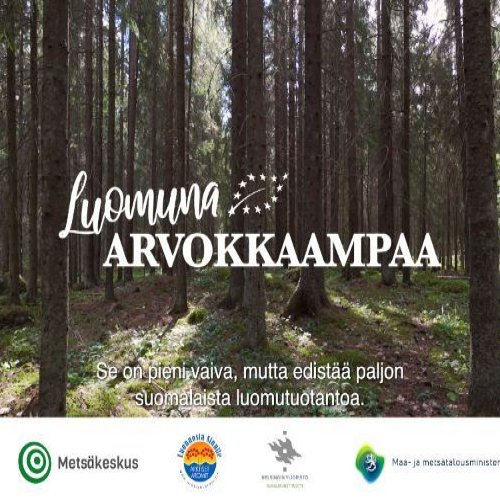 Suomen metsistä valtaosa sopii luomukeruualueiksi, ja alueiden määrä olisi mahdollista ainakin tuplata. Tällä hetkellä m...